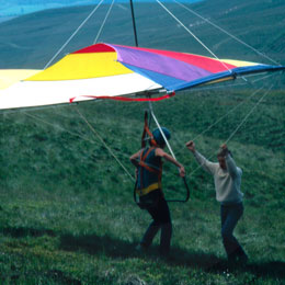 Hang Gliding Gift Experience | Tandem Hang Gliding Gift Package | Unique Flying Gift | Excitations