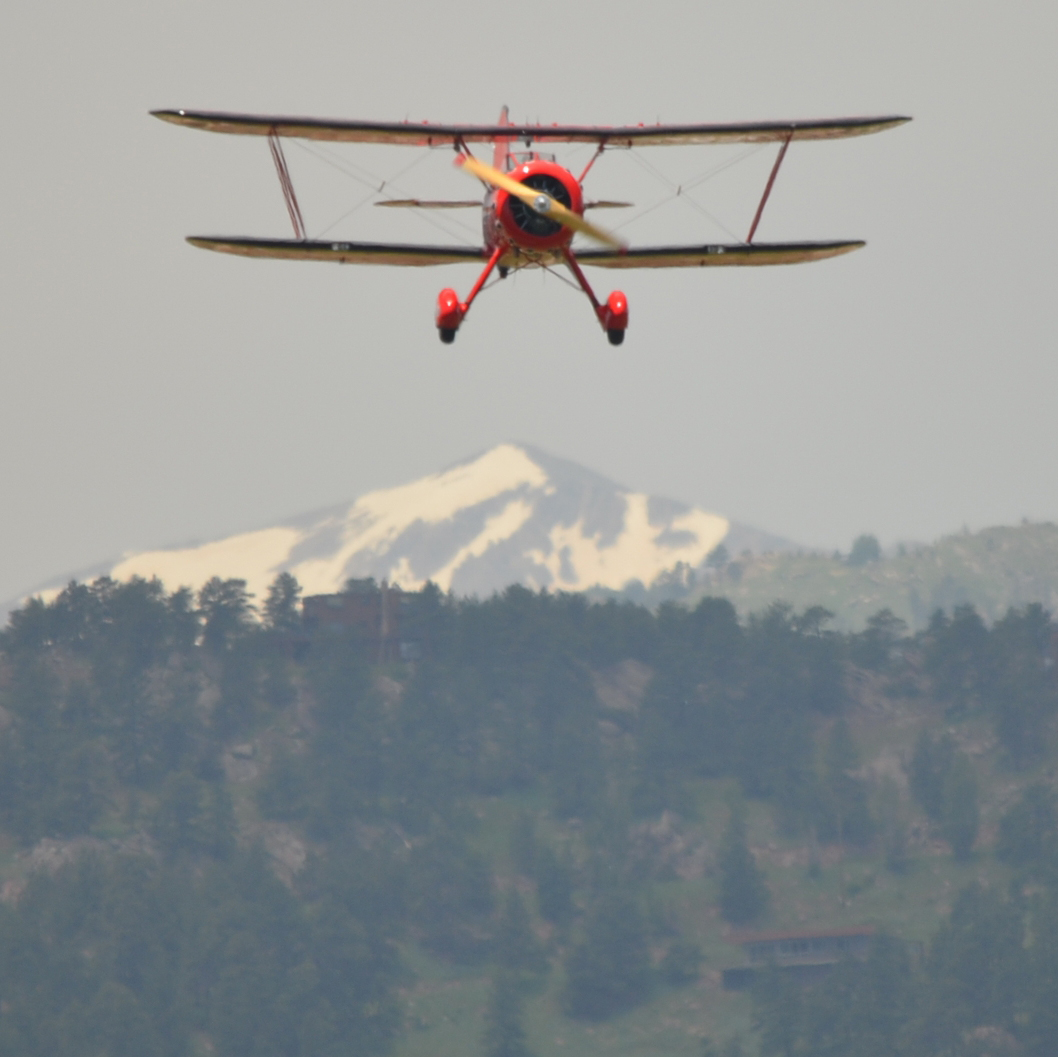 Aerobatic BiPlane Flight