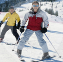 Private Skiing for Two